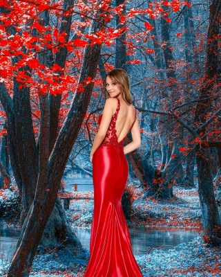 Simple evening dresses | Prom dresses long red_2