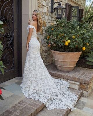Designer Brautkleid Meerjungfrau Spitze | Hochzeitskleider Weiß_2