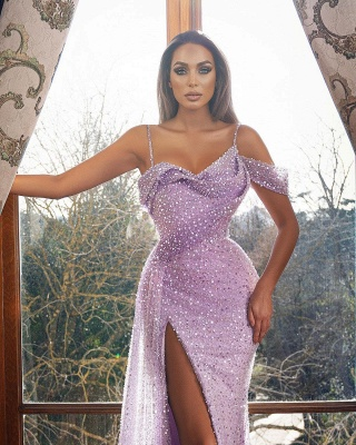 Lilac Abiballkleider Lang Glitzer | Abendkleider Günstig Kaufen_2