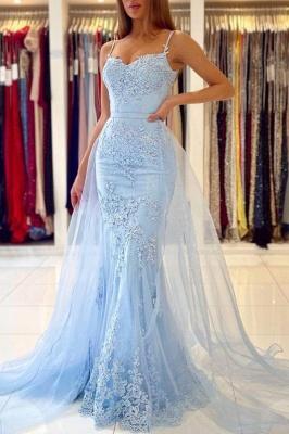 Blue Evening Dresses Long Lace | Prom Dresses Cheap Online
