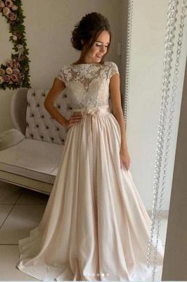 Schlichtes Brautkleider Mit Spitze | Hochzeitskleider Günstig