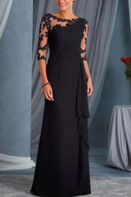 Black Mother of the Bride Dresses With Sleeves | Dresses for mother of the bride cheap