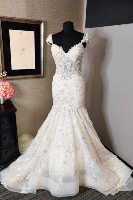Luxus Brautkleider Meerjungfrau | Hochzeitskleider Spitze