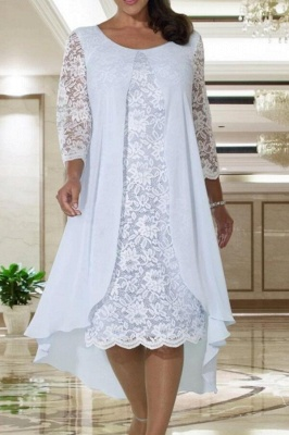 Mother of the Bride Dresses Lace with Jacket | Short dresses mother of the bride