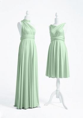 Mint Grün Wandelbare Brautjungfernkleider Lang | Kleider Für Brautjungfern_3