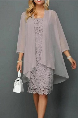 Lace Mother of the Bride Dresses Short | Dresses Mother of the Bride with Jacket