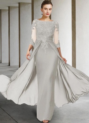 Vintage Mother of the Bride Dresses With Sleeves | Dresses for mother of the bride long_3