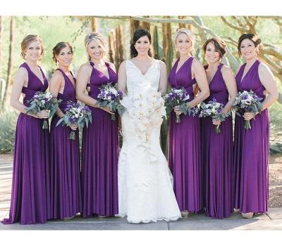 Brautjungfernkleider Lang Flieder | Brautjungfer Kleid Online Kaufen