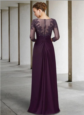 Vintage Mother of the Bride Dresses With Sleeves | Dresses for mother of the bride long_2