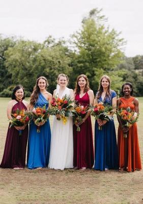 Wandelbare Brautjungfernkleider Lang | Kleider Für Brautjungfern Günstig