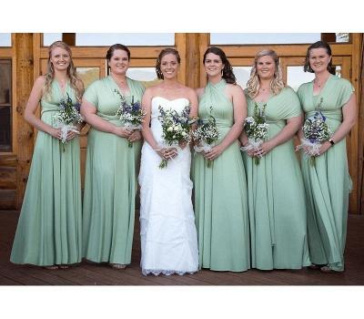 Günstige Brautjungfernkleider Mintgrün   Kleider für Brautjungfern_2