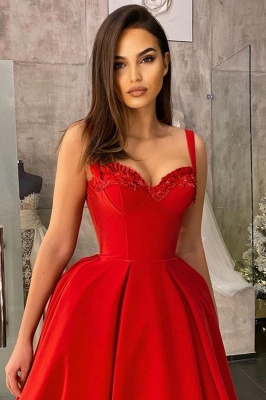 Cocktail dresses short red | Prom dresses cheap_5