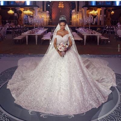 Luxury Prinzessin Brautkleider Spitze | Hochzeitskleider Online Kaufen_2