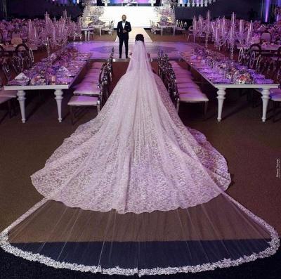 Luxury Prinzessin Brautkleider Spitze | Hochzeitskleider Online Kaufen_3