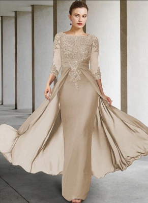 Vintage Mother of the Bride Dresses With Sleeves | Dresses for mother of the bride long_5