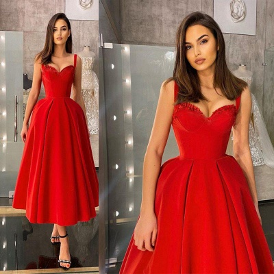 Cocktail dresses short red | Prom dresses cheap_1