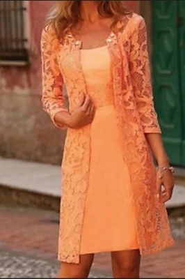 Mother of the Bride Dresses Lace Jacket | Mother of the Bride Dress Short