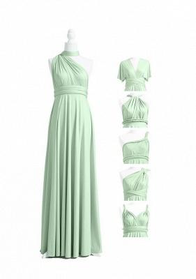 Mint Grün Wandelbare Brautjungfernkleider Lang | Kleider Für Brautjungfern_4