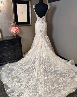 Luxus Brautkleider Meerjungfrau | Hochzeitskleider Spitze_2