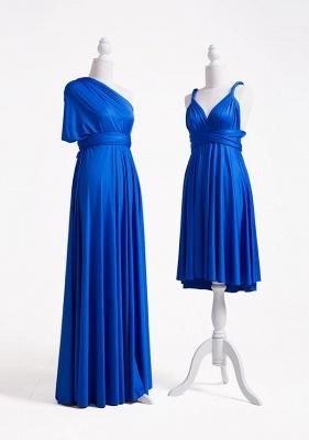 Wandelbare Brautjungfernkleider Blau | Brautjungfernkleid Lang Günstig_4