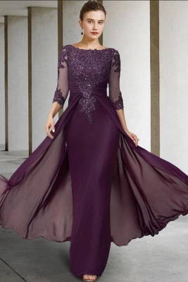 Vintage Mother of the Bride Dresses With Sleeves | Dresses for mother of the bride long