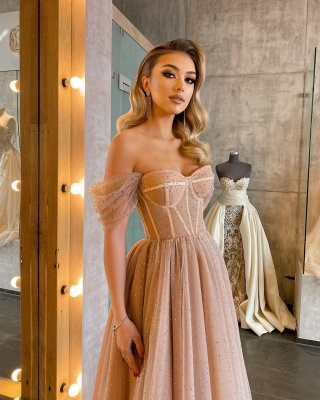 Beautiful cocktail dresses short | Evening dresses with glitter_1