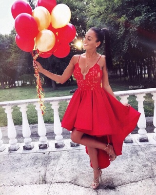 Red Cocktail Dresses Short Long | Prom dresses cheap_2
