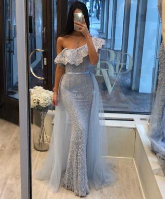 Blaue Abendkleider Mit Ärmel | Abiballkleider Mit Spitze_2