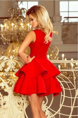 Rote Abendkleider Kurz | Abiballkleider Cocktailkleider Günstig_2
