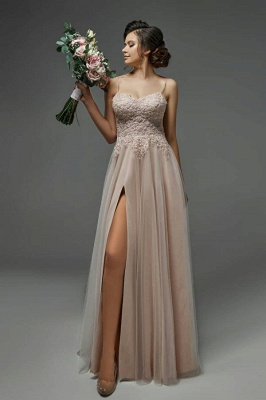 Simple wedding dress with lace   Wedding dresses shift dresses_1