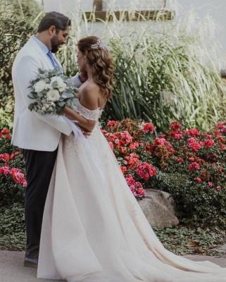 Boho Wedding Dresses A Line | Wedding dresses with lace_2
