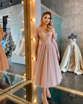 Beautiful cocktail dresses short | Evening dresses with glitter_7