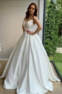 Schlichte Brautkleider Prinzessin | Brautmoden Hochzeitskleider Online