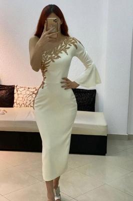 Cocktailkleider Kurz Weiß | Abendkleider mit Ärmel