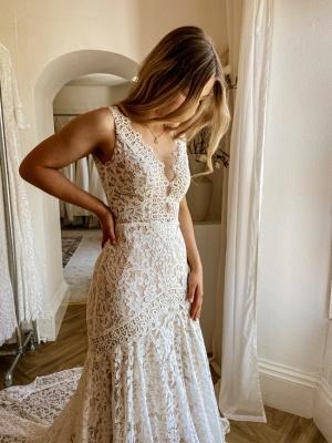 Wunderschöne Brautkleider Meerjungfrau | Hochzeitskleider Spitze_4