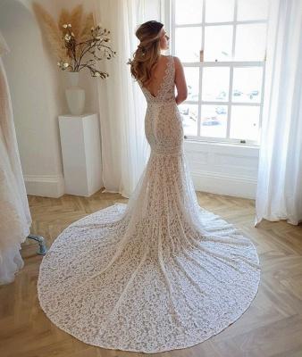 Wunderschöne Brautkleider Meerjungfrau | Hochzeitskleider Spitze_3