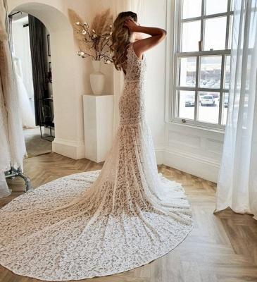 Wunderschöne Brautkleider Meerjungfrau | Hochzeitskleider Spitze_2