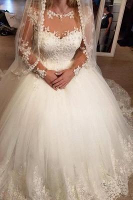 Elegante Hochzeitskleider Prinzessin | Brautkleider Mit Ärmel