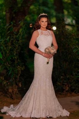 Schöne Brautkleider Meerjungfrau | Hochzeitskleider Spitze Günstig