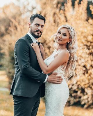 Schöne Brautkleider Meerjungfrau Stil | Hochzeitskleider mit Spitze_5