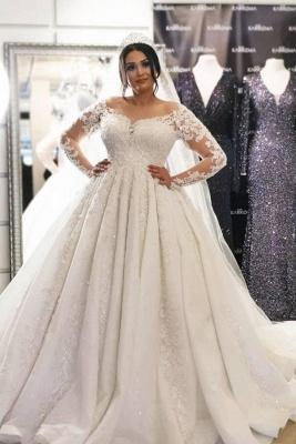 Brautkleider Große Größe | Hochzeitskleider Spitze Mit Ärmel