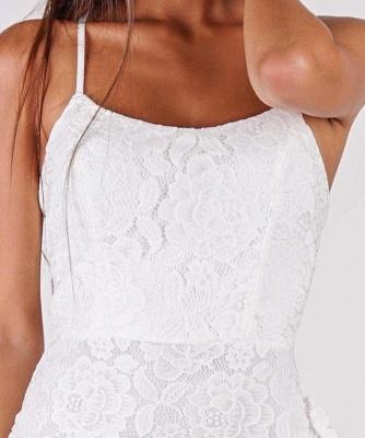 Schlichtes Hochzeitskleid | Brautkleider Meerjungfrau Spitze_3