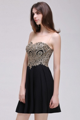 Elegant short evening dresses | Cocktail dresses black_8