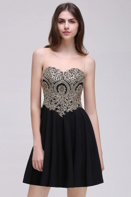 Elegant short evening dresses | Cocktail dresses black_3
