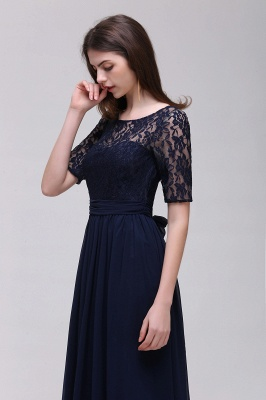Simple evening dress long cheap | Prom dresses with lace_13