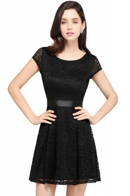 Designer evening dresses short | Cocktail dresses black_9