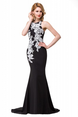 Evening dress long black | Festive clothes women_10