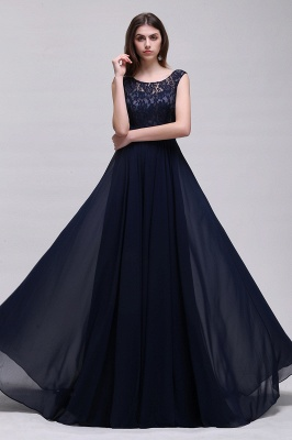Simple evening dress | Evening wear prom dresses long cheap_4