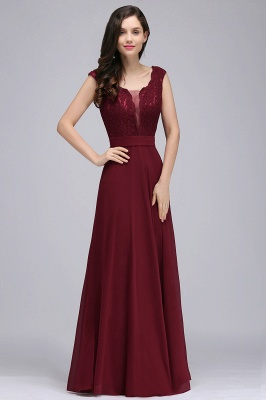 Cheap Evening Dresses Wine Red | Long glitter prom dresses