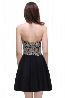 Elegant short evening dresses | Cocktail dresses black_5
